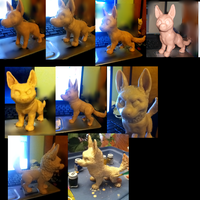 WIP sculpture by VengefulSpirits