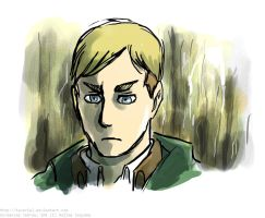 Attack on Titan Screencap Redraw -random Erwin pic by Tavoriel