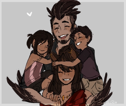 RC: One big happy Family by aomaoe
