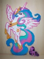 21 Inch Princess Celestia Perler by Perler-Pop