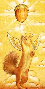 Ascension of the Squirrel by enchantedgal