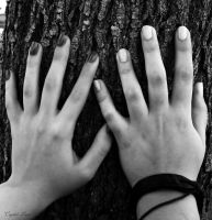 Hands In Nature by Crystal-Luna