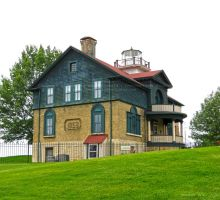 Old Michigan City Lighthouse Museum by Foozma73