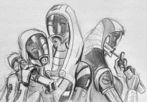 sketches Tali (102) by spaceMAXmarine