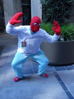 Dr. Zoidberg Cosplay 1 by WheatunRye