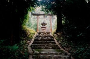 Kifune Shrine in Miwa by Yastaka
