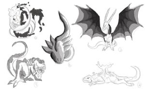 Mythological beasts 11