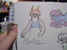.:AT:. Phyllis for TimeFor2Moro by Lockian