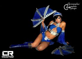 Kitana's blades by DarkTifaStrife