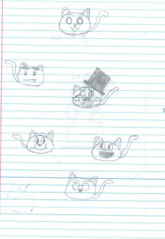 Some Cats of a sort by jimbobwolfman