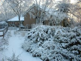 our home in winter by zulou