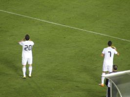 Higuain and Ronaldo by MGuerrero82