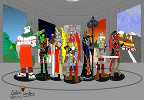 The Seven Heroes of Pathyrion by DragonSnake9989