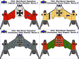 111th Red Baron Squadron by MarcusStarkiller