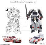 DRIFT - from comic to TOY by GuidoGuidi
