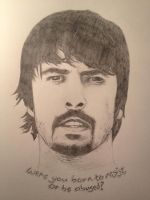 Dave Grohl by chrisbrown55