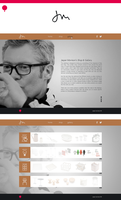 Jasper Morrison Website by ImPact-Design