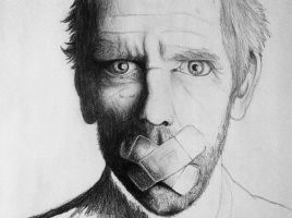 Dr House Portrait {Redone} by 11meister