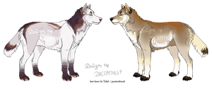 Wolf Designs: Open! 2/2 by DREAMTHlEF
