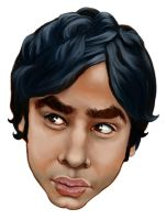Raj Koothrappali by enginemonkey