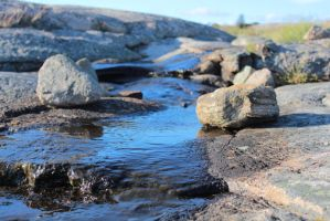Flowing with the Rocks by Scout2Freak