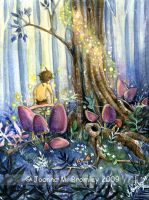 Forest Whisperings by JoannaBromley