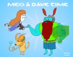 Adventure Time with Meg and Dave by Sketchbomb