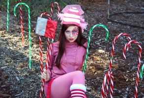 Candy Cane Forest by MysticalCapture