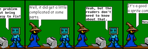 CW119: Sprite Comics are Lazy by Impendidngdoom46