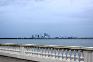 downtown from bayshore by CommonMime