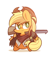 Sheriff applejack by ILifeloser