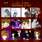 2012 art summary by Caelumish