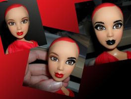 Second Doll Face Repaint by kayanah