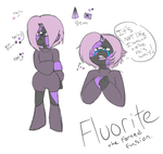 Fluorite- Another Steven Universe Gem OC by Dark-Videogamer