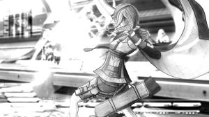 Light fight - Final Fantasy XIII by PolishPsycho