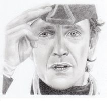 Paul Mcgann as Bush by sherlockart