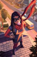 Ms. Marvel by ZurdoM