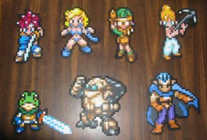 Chrono Trigger Character Set by MaliceOhgr242