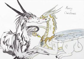 ready WIP Luna and Yu Mei by ChibiMieze