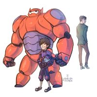 Big Hero 6 - Legacy by lorna-ka