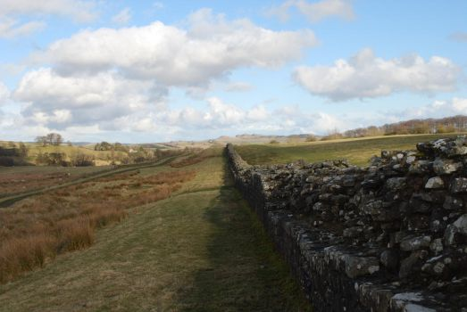 Hadrian's Wall by Moremus
