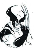 Wolverine sketch by MikimusPrime