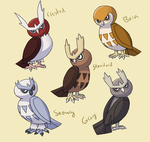 PokemonSubspecies: Noctowl by CoolPikachu29