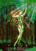 Collab: Entwined by Nature by Mysticbynd