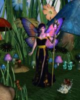 Queen of the Toadstool Glen by RavenMoonDesigns