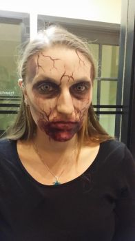 Vampire Special-Effects Make-up 2015 - 2 by pearldragon145
