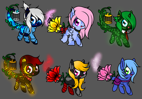 Glowsprite Adopts by FPS-Foxi
