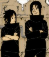 Itachi and Sasuke fixed by K4m3l0r7