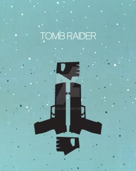 Tomb Raider Graphic Poster by Olenar