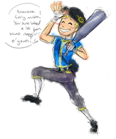 Vault boy, scout edition. by Manic-Flyer
